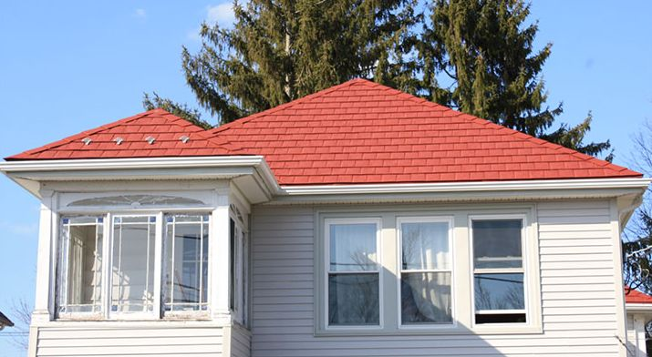 Red-color-metal-shingles-roof