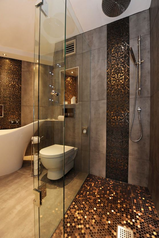 metallic-tiles-bath