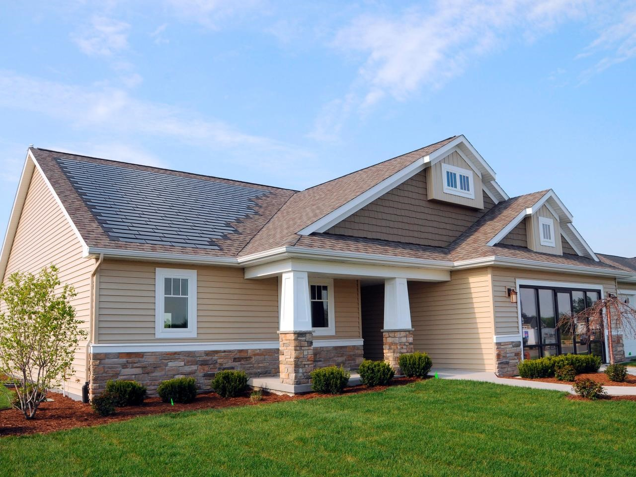 Dow 8217 S House Solar Shingles