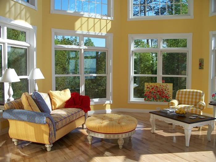 Custom Two Story Sun Room Modular Home Design Home
